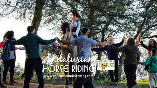 biodanza andalusian horse riding