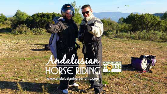 paragliding andalusian